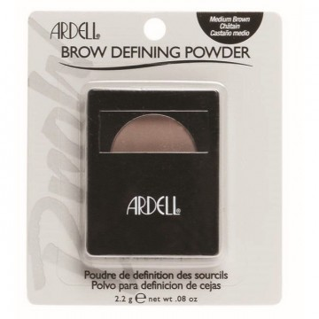 Fard de sprancene Ardell Brow Defining Powder Medium Brown 2.2g