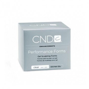 Forme Sculptare CND Performance Clear 300buc