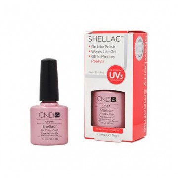 Lac unghii semipermanent CND Shellac Strawberry Smoothie 7.3ml