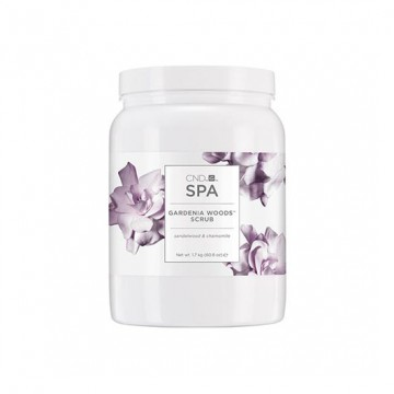 Exfoliant CND Spa Gardenia Woods Scrub 1798ml