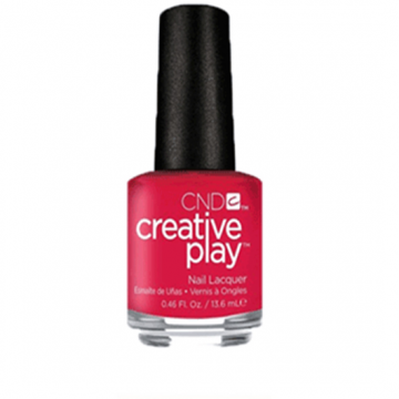 Lac unghii clasic CND Creative Play Well Red 13.6 ml