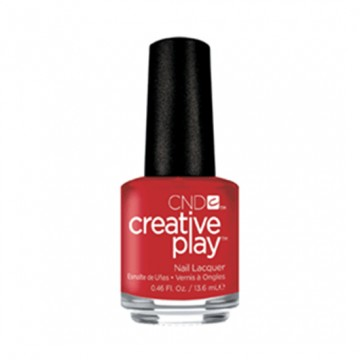 Lac unghii clasic CND Creative Play Red Y To Roll 13.6 ml