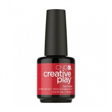 Lac unghii semipermanent CND Creative Play Gel Red y to Roll #412 15 ml