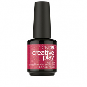 Lac unghii semipermanent CND Creative Play Gel Revelry Red #486 15 ml