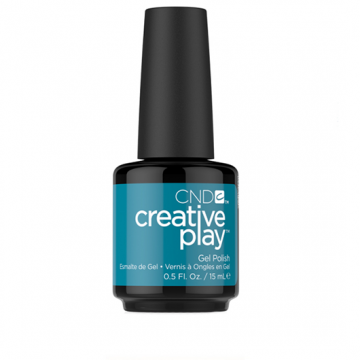 Lac unghii semipermanent CND Creative Play Gel #503 Teal The Wee Ho 15ml