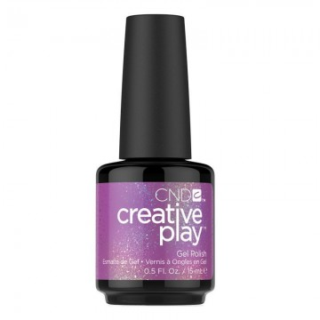 Lac unghii semipermanent CND Creative Play Gel #475 Positively Plum 15ml