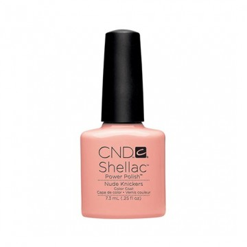 Lac unghii semipermanent CND Shellac Nude Knickers 7.3ml