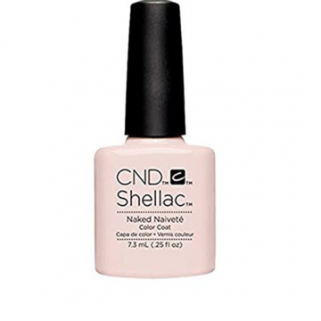 Lac unghii semipermanent CND Shellac Naked Naivete 7.3ml