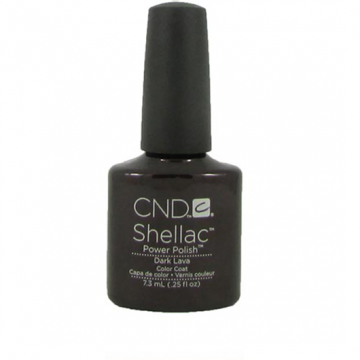Lac unghii semipermanent CND Shellac Dark Lava 7.3ml