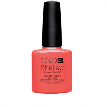 Lac unghii semipermanent CND Shellac Desert Poppy 7.3ml