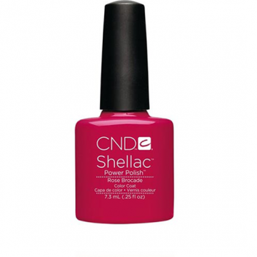 Lac unghii semipermanent CND Shellac Rose Brocade 7.3ml