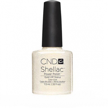 Lac unghii Semipermanent CND Shellac Gold Vip 7.3ml