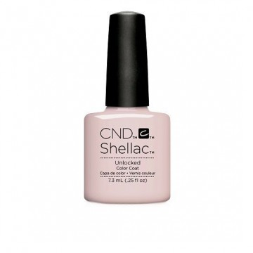 Lac unghii semipermanent CND Shellac Unlocked Nude Collection 7.3ml