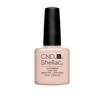 Lac unghii semipermanent CND Shellac Unmasked Nude Collection 7.3ml