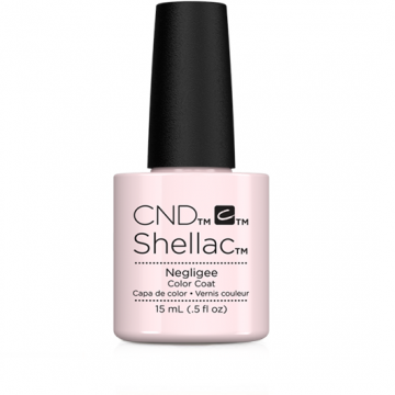 Lac unghii semipermanet CND Shellac Jumbo Negligee 15ml