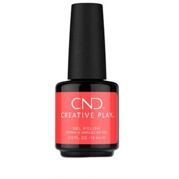Lac Unghii Semipermanent CND Creative Play Gel #410 Coral Me Later 15ml