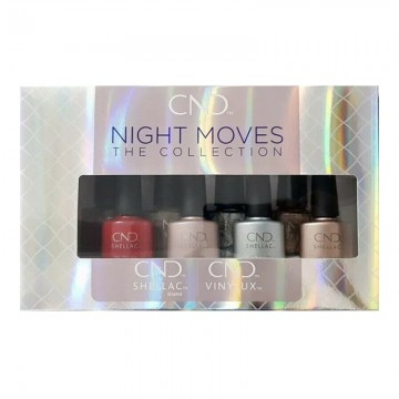 Lac semipermanent CND Shellac & Vinylux Night Moves Display