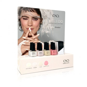Display lac unghii saptamanal CND Vinylux Yes I Do 10x15ml