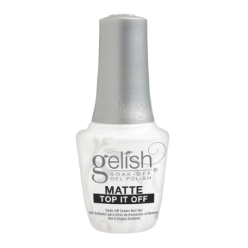 Top Gelish Matte Top It Off Soak-Off Sealer Gel 15 ml