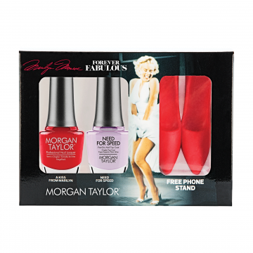 Set Lac unghii saptamanal Morgan Taylor Duo Pack Marilyn