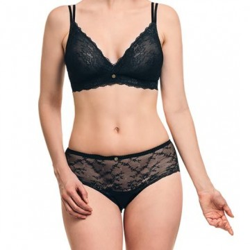 Ipomia sutien Light Lace wireless bra black