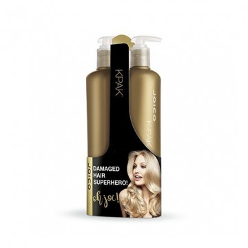 Set Sampon si Conditioner Joico K-Pak pentru par deteriorat 2x500ml