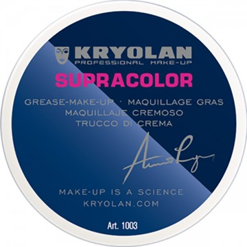 Fond de ten Kryolan Supracolor Grease Paint Culoare 070-Alb 50ml
