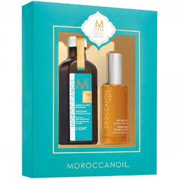 Set Moroccanoil Head To Toe Signature Kit Light (Ulei tratament par 100ml + Ulei corp 50ml)