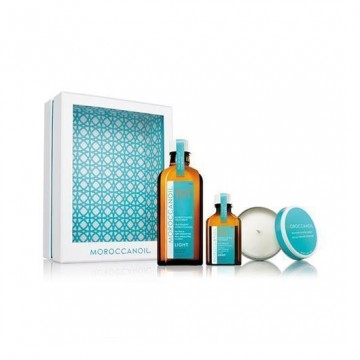 Set Home and Away Tratament Light - Moroccanoil