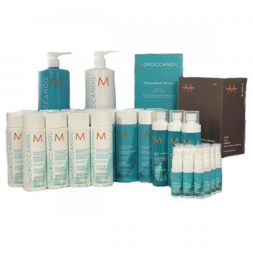 Kit Deluxe Intro Package Moroccanoil Color Complete