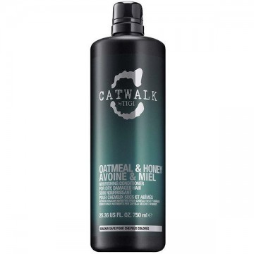 Conditioner Tigi Cat Walk Oatmeal&Honey pentru par deteriorat 750ml