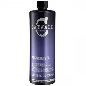 Conditioner Tigi Cat Walk Fashionista Violet pentru par blond 750ml