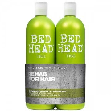 Set Tigi Bed Head Rehab Sampon+Balsam 2x750ml