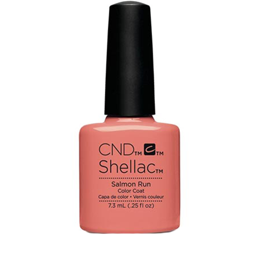 Lac unghii semipermanent CND Shellac Salmon Run 7.3ml