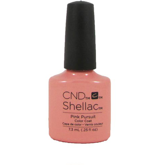 Lac unghii semipermanent CND Shellac Pink Pursuit 7.3ml