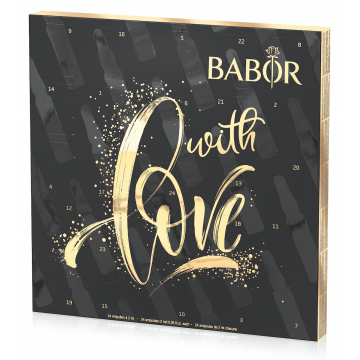 Fiole pentru ten Babor Advent Calendar Cura Intensiva de infrumuseare 24 x 2ml