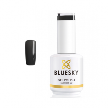 Lac de unghii semipermanent Bluesky UV Dark Grey 15ml