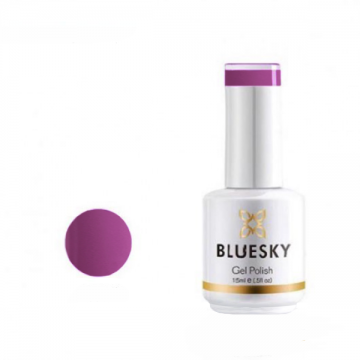 Lac de unghii semipermanent Bluesky UV Purple Pink 15ml