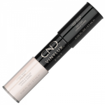 Lac unghii saptamanal 2 in 1 CND Vinylux Naked Naivete & Top 2x3.7ml