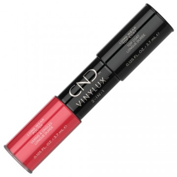 Lac unghii saptamanal 2 in 1 CND Vinylux Lobster Roll & Top 2x3.7ml