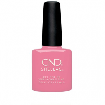 Lac unghii semipermanent CND Shellac UV Kiss From A Rose 7.3ml
