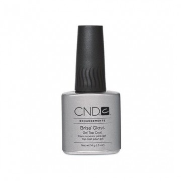 Gel de sculptare CND Gloss Brisa Clear Top Coat 14g