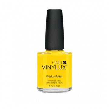 Lac unghii saptamanal CND Vinylux #104 Bicycle Yellow 15 ml