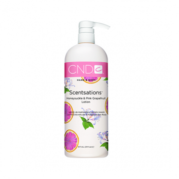 Lotiune hidratanta CND Scentsation Honey & Grapefruit pentru maini 917ml