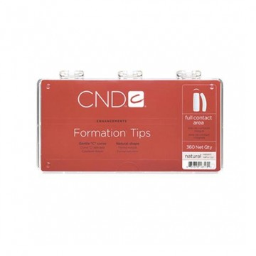 Tips-uri CND Formation Tips Natural Shape 360buc