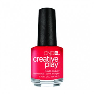 Lac unghii clasic CND Creative Play Coral Me Later 13.6 ml