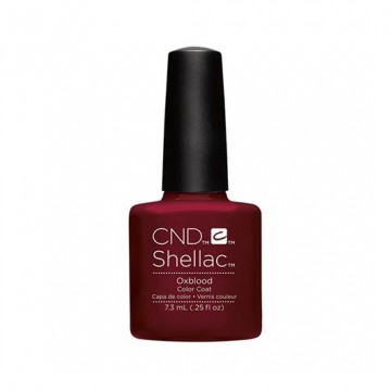 Lac unghii semipermanent CND Shellas Oxblood 7.3ml