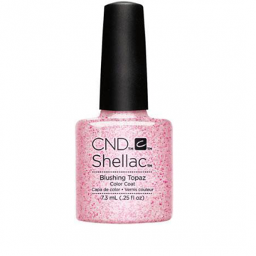 Lac unghii semipermanent CND Shellac Blushing Topaz 7.3ml