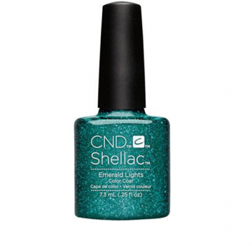 Lac unghii semipermanent CND Shellac Emerald Lights 7.3ml