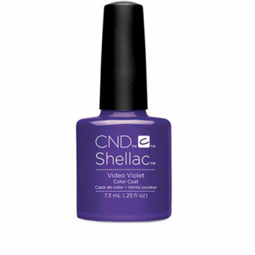 Lac unghii semipermanenta CND Shellac Video Violet 7.3ml